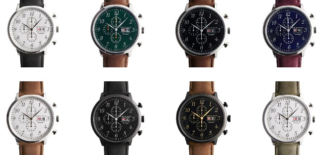 Montres française Armogan chronographes