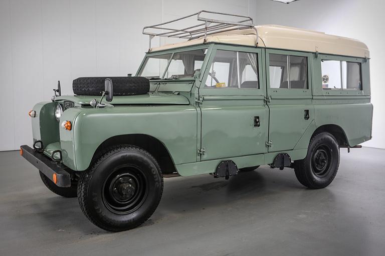 Land Rover 1966 en vente