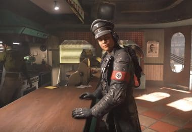 Wolfenstein nazis amérique