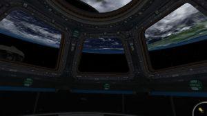 NASA application ISS