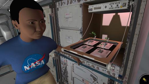 NASA jeu vidéo plantes