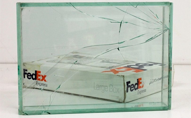 Walead Beshty FedEx art