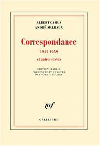 Albert Camus Correspondance