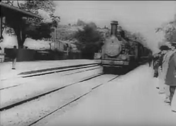 L'arrivée d'un train ciotat