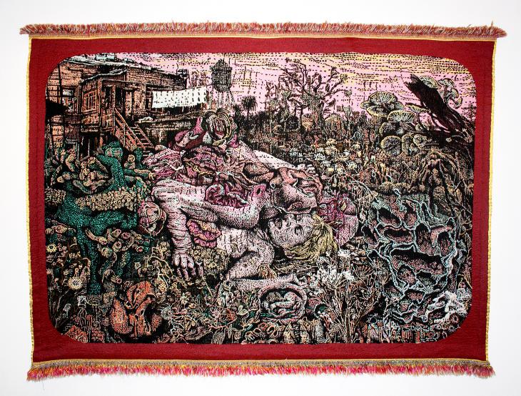 Stéphane Blanquet tapisserie Aurore