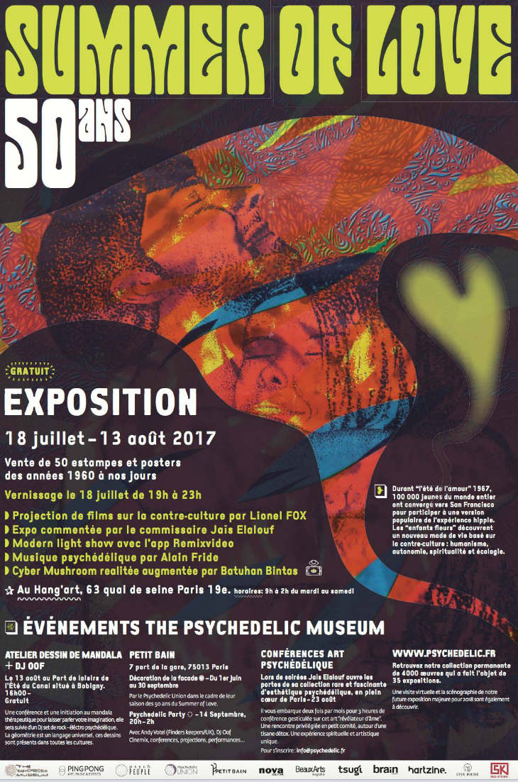 Summer of love expo Paris