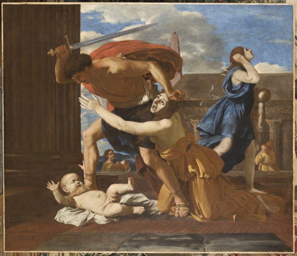 Peinture Nicolas Poussin