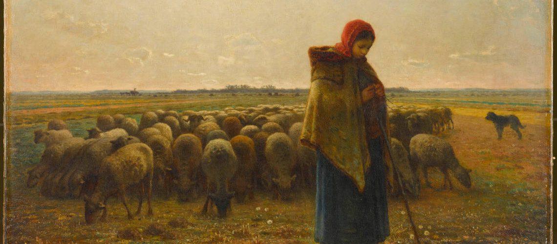 expo Millet bergere troupeau