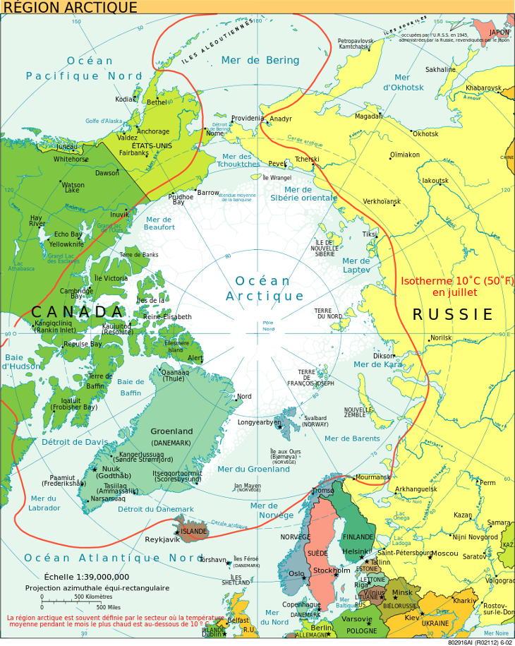 Arctique exploitation futur