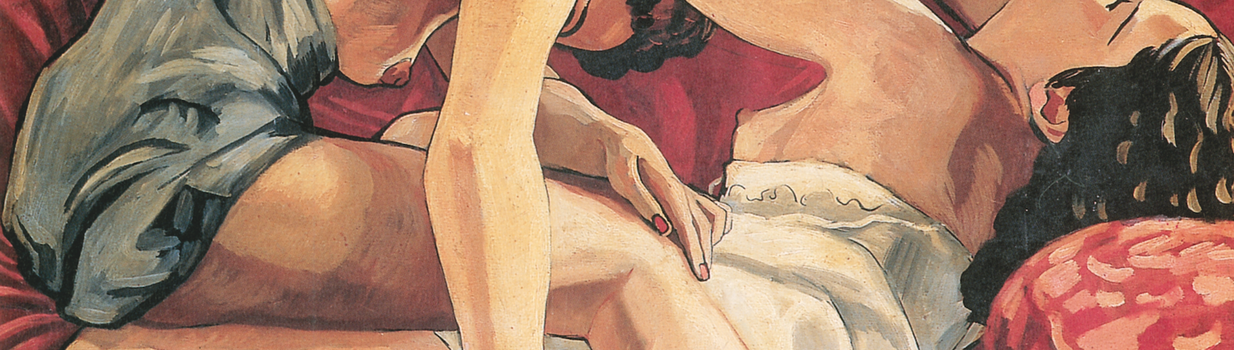 deux femmes érotisme Picabia