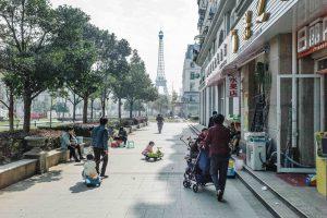 Faux Paris Chinois
