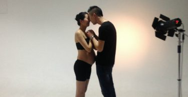 Couple Chinois, studio photo