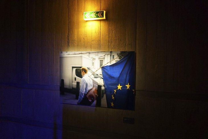 Londres Brexit Scène Europe