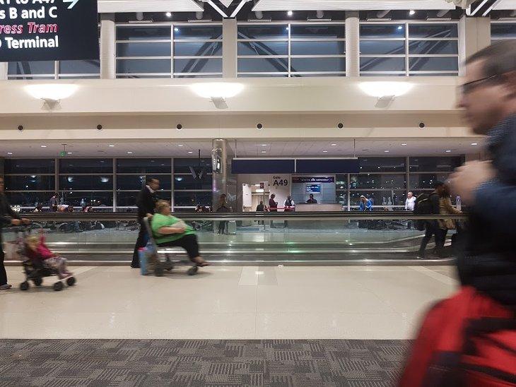 obésité usa aéroport