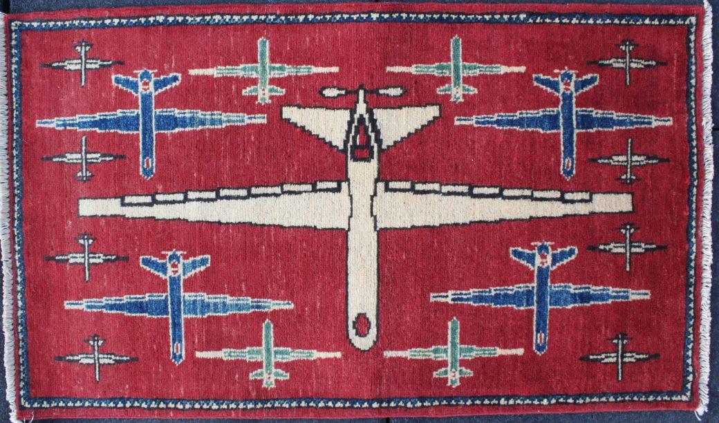 tapis de guerre afghan, drones