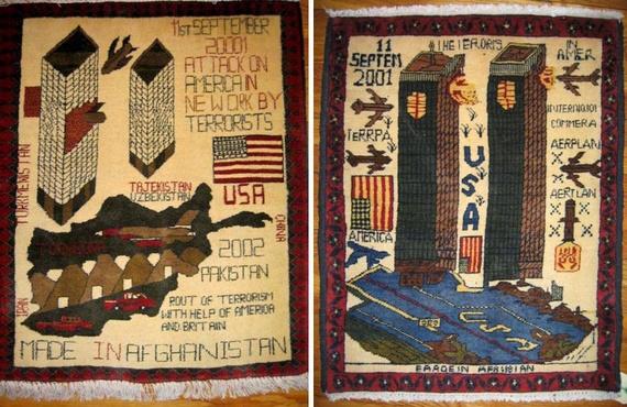 tapis de guerre, 9/11, WTC