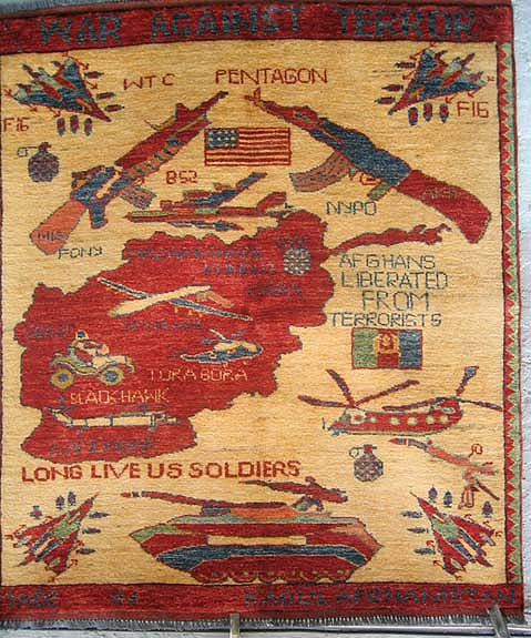 tapis de guerre