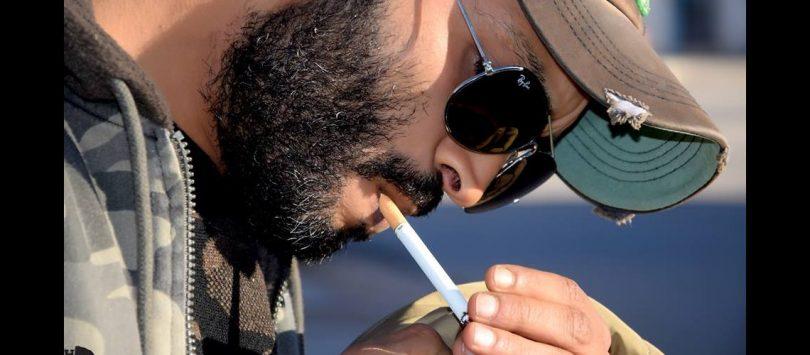 Nidhal Gheribi cigarette