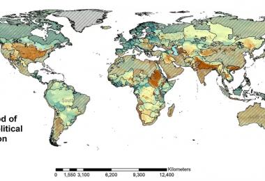 Carte guerres eau