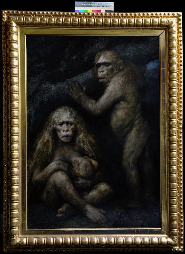 Exposition Freud tableau von max