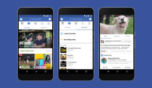 Facebook Watch annonces 2018