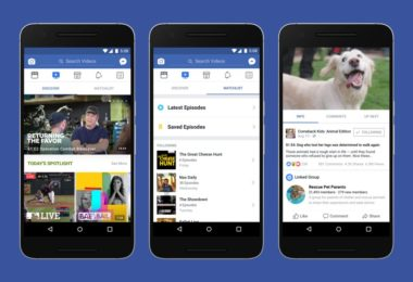 Facebook Watch annonces 2018