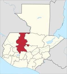 carte guerre civile Guatemala