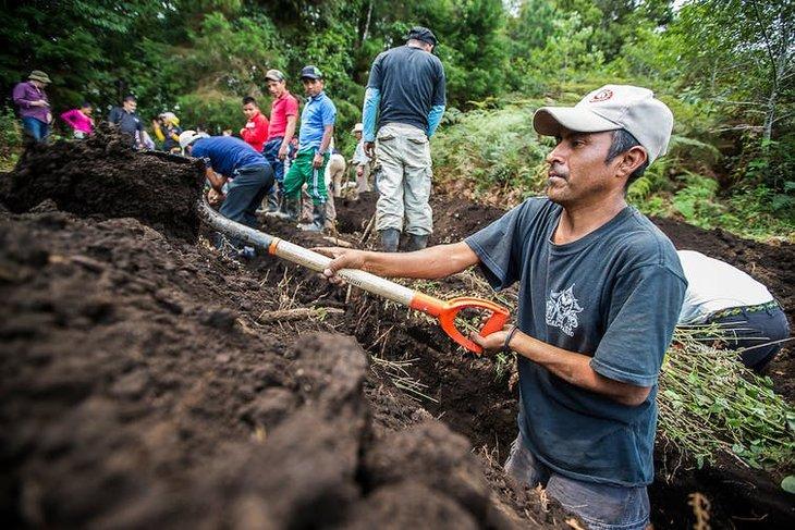 Exhumation corps Guatemala