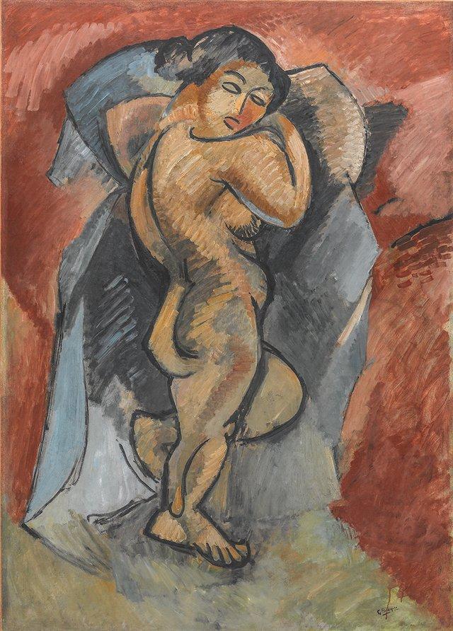 Braque Nu Exposition Cubisme