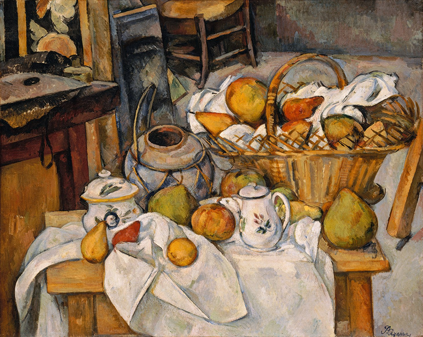 Paul Cézanne Table Cuisine