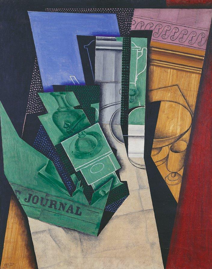 Gris Petit-déjeuner Cubisme Pompidou