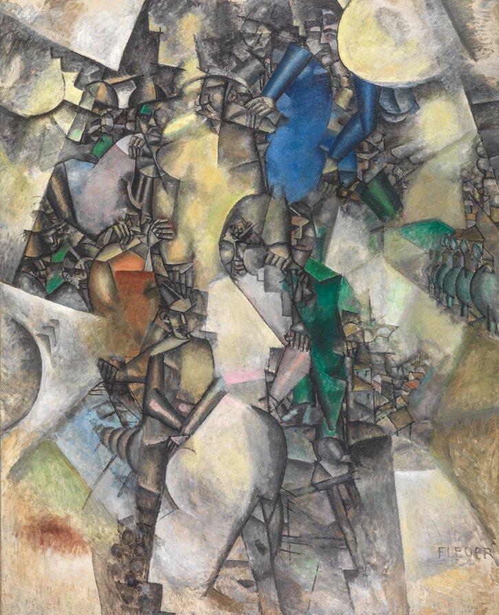 Léger Noce Cubisme Peinture