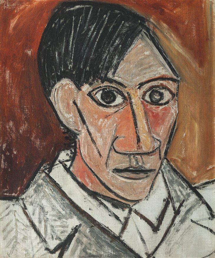 Picasso autoportrait cubisme Pompidou