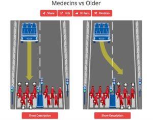 Machine Morale médecins seniors