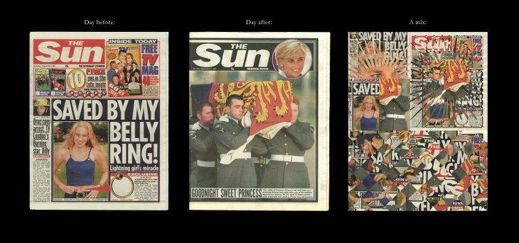 Jour avant Lady Diana