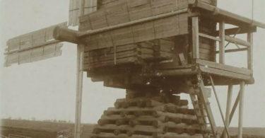 Moulin reconstruire effondrement