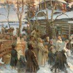 Nikolay Shabunin peinture Russie