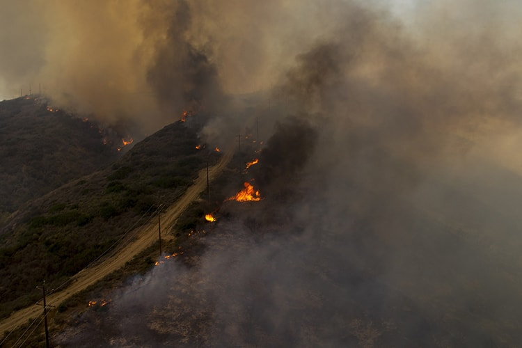 Feux dévastateurs Changement climatique