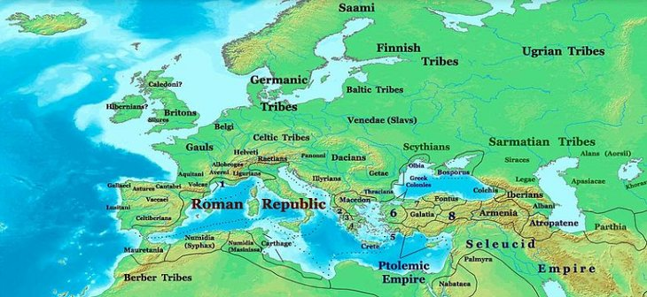 Empire romain Europe Supercontinent