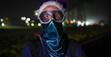 Activiste blocage Pesticides