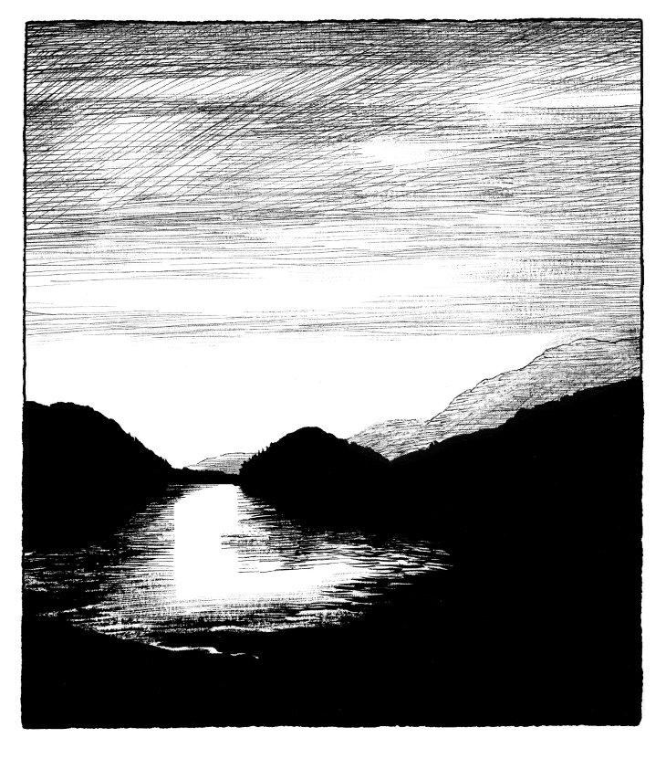 Lac Chine Frédéric Pajak