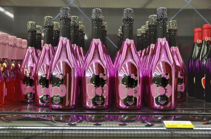 vin rosé hello kitty