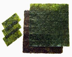algues comestibles japon nori