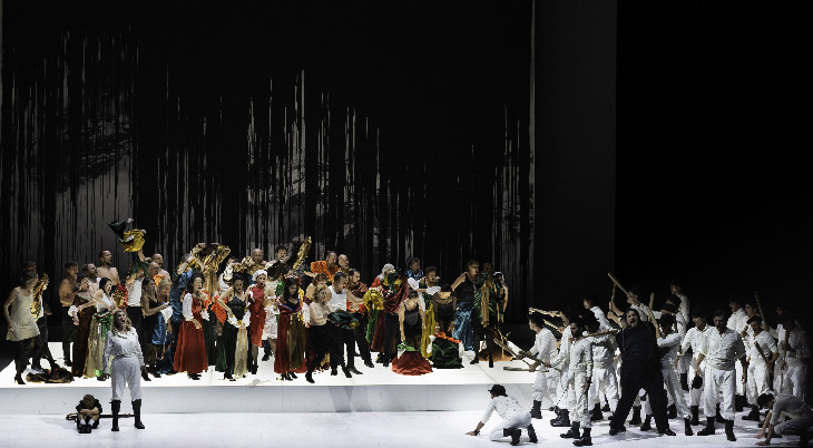 Opéra Lyon scène Rossini