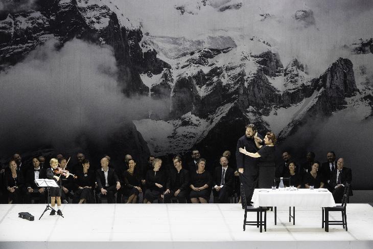 Scène opéra Rossini