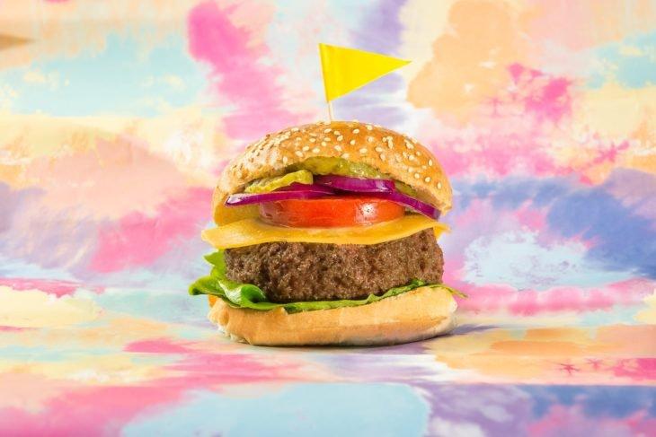 Burger viande clonée Mosa