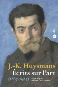 couverture ecrits art huysmans