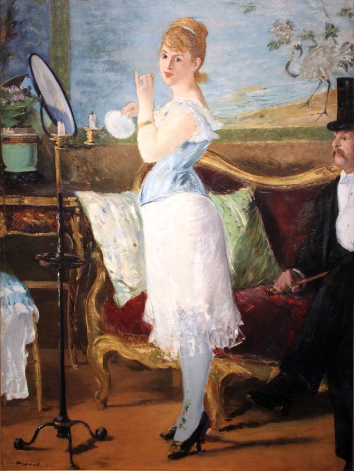 Nana par Manet texte Huysmans