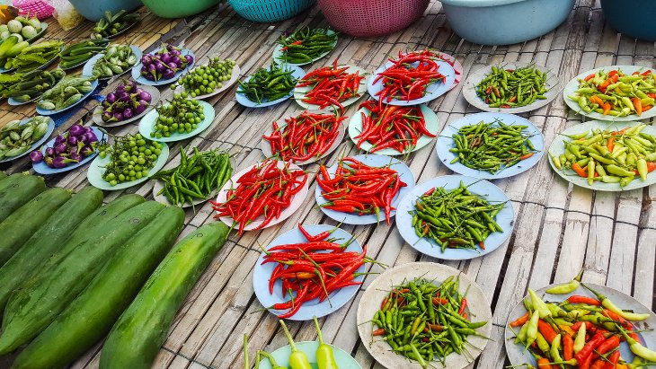 Street Food Bangkok piments