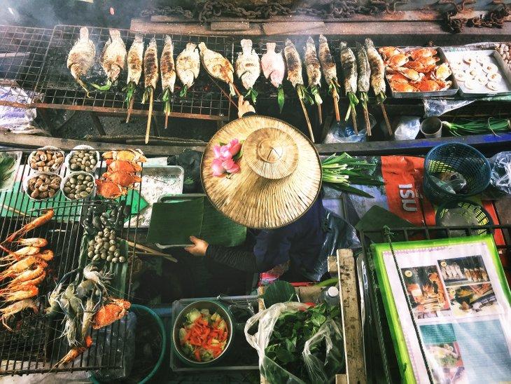Bankok Street Food étal